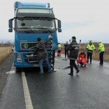 accident fata tir