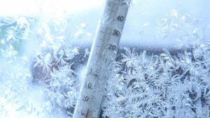 La Făgăraș, printre cele mai scăzute temperaturi din țară, – 29 de grade Celsius